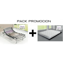 Pack Cama Articulable TEMPO...